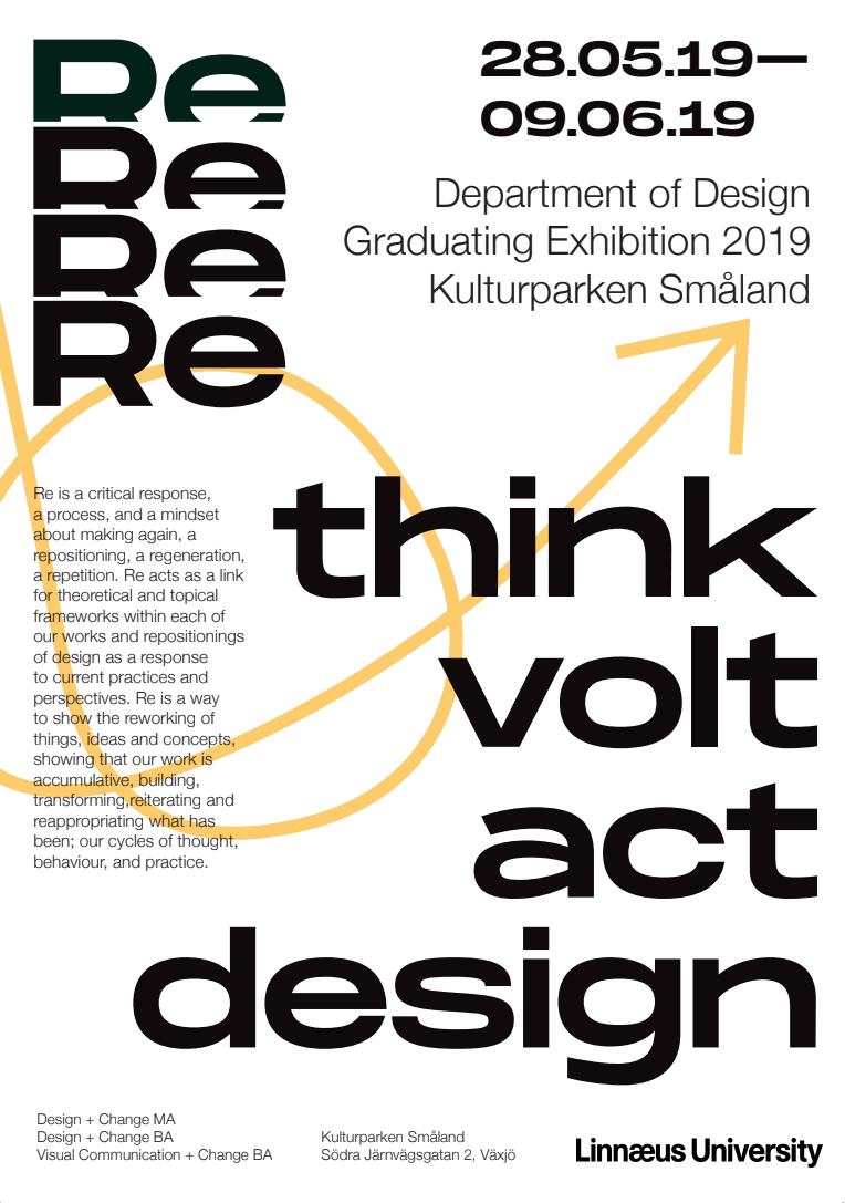 Re graduation poster